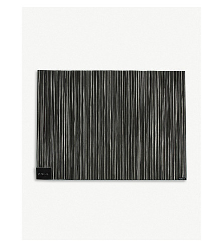 CHILEWICH Rib Weave placemat