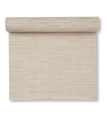 CHILEWICH Bamboo table runner