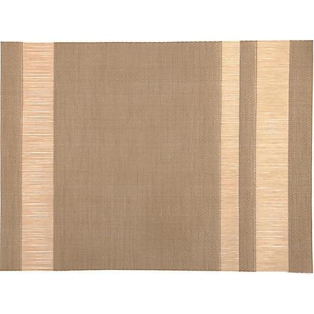 CHILEWICH Tuxedo Stripe placemat