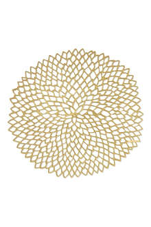 CHILEWICH Knit round placemat 38cm