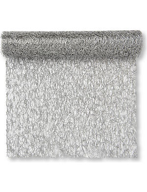 CHILEWICH Metallic Lace table runner