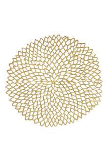 CHILEWICH Dahlia round placemat