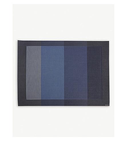 CHILEWICH 色节奏条纹矩形垫36x48厘米