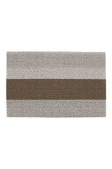 CHILEWICH Bold Stripe doormat 71cm