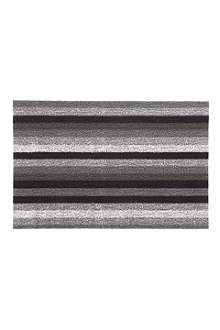 CHILEWICH Even Stripe doormat 71cm