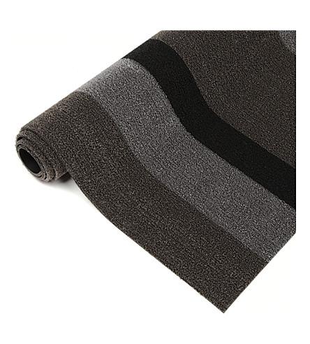 CHILEWICH Bold stripe shag utility mat 152cm