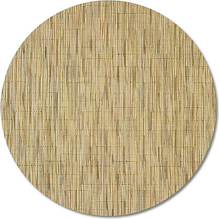 CHILEWICH Bamboo round placemat