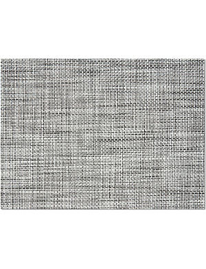 CHILEWICH Black and white vinyl tablemat