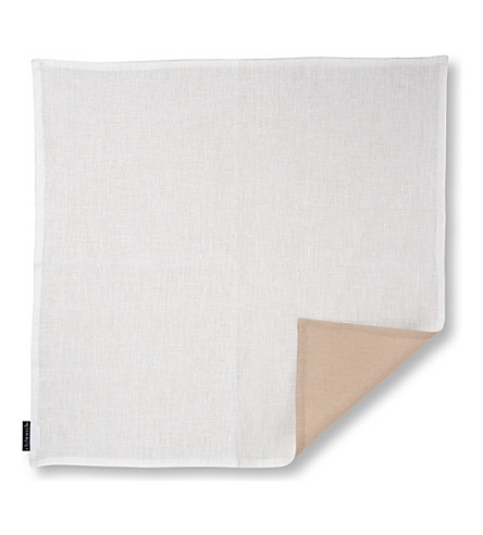 CHILEWICH Reversible linen napkin