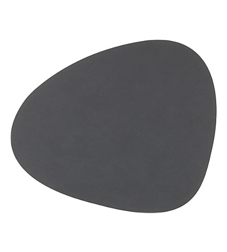LIND DNA Curve nupo anthracite table mat