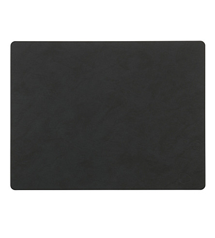 LIND DNA Sqaure leather table mat