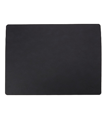 LIND DNA Leather placemat