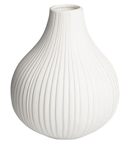 URBAN NATURE CULTURE Stripe porcelain vase