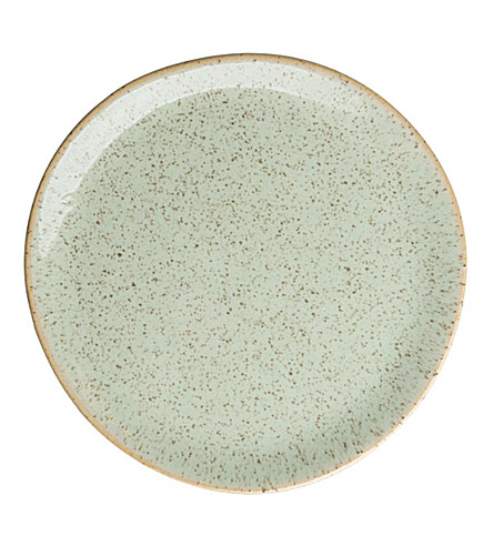 URBAN NATURE CULTURE Speckled stoneware plate grow