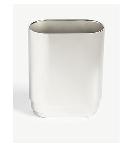 GEORG JENSEN Manhattan small stainless steel vase 20cm
