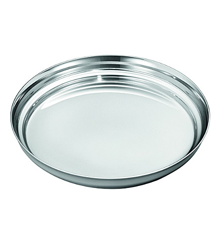 GEORG JENSEN Manhattan stainless steel wine coaster