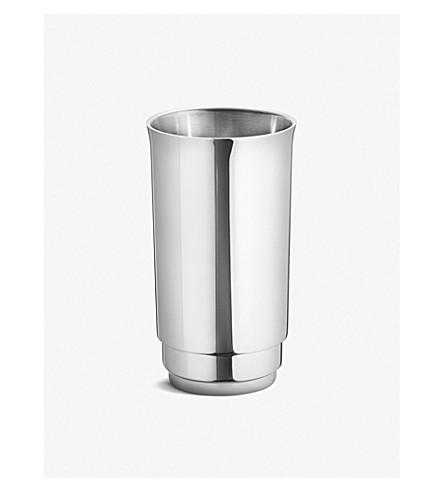 GEORG JENSEN Manhattan stainless steel wine cooler
