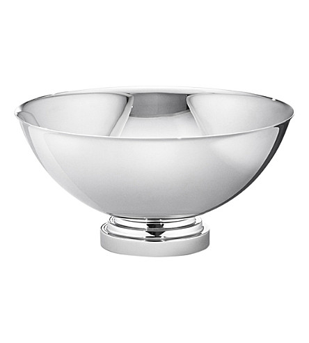 GEORG JENSEN Manhattan medium stainless steel bowl 20cm