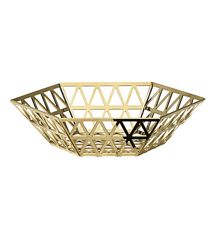 GHIDINI Tip Top triangle steel tray