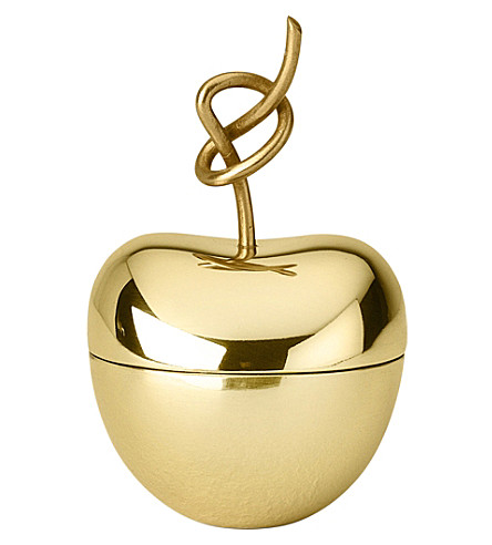 GHIDINI Nika Zupanc brass knotted cherry