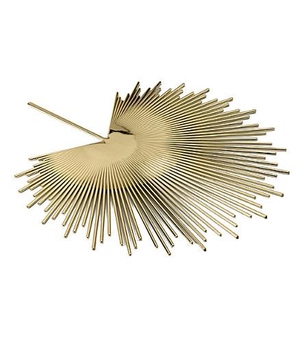GHIDINI Nika Zupanc brass palm tray