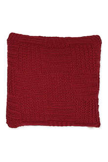 LINUM Cate knitted cushion