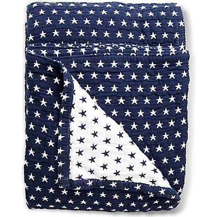 LEXINGTON Authentic Star bedspread navy