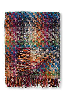 MISSONI HOME Husky throw multi jewel