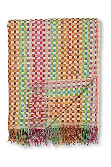 MISSONI HOME Norris throw multi bright