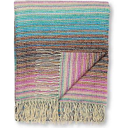 MISSONI HOME Norris throw multi blue
