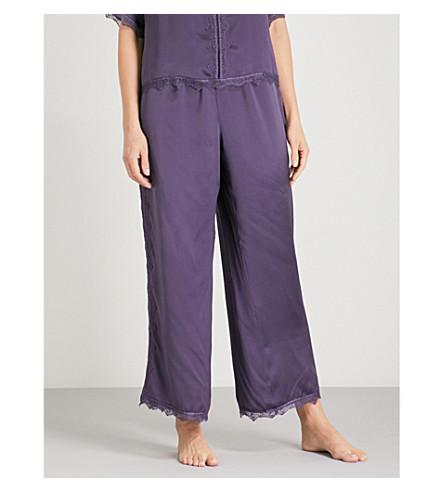 NK IMODE Ulrika silk-satin pyjama bottoms (Ink