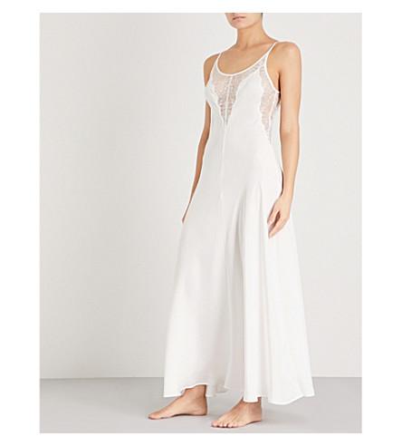 NK IMODE Yasmin silk-satin nightgown (Ivory