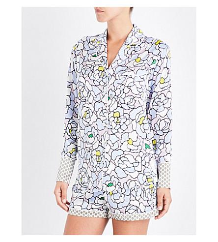 OLIVIA VON HALLE Alba Dione silk-satin pyjama set (Dione