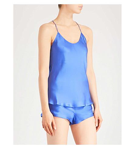 睡衣套装 (蓝宝石 + 蓝色)