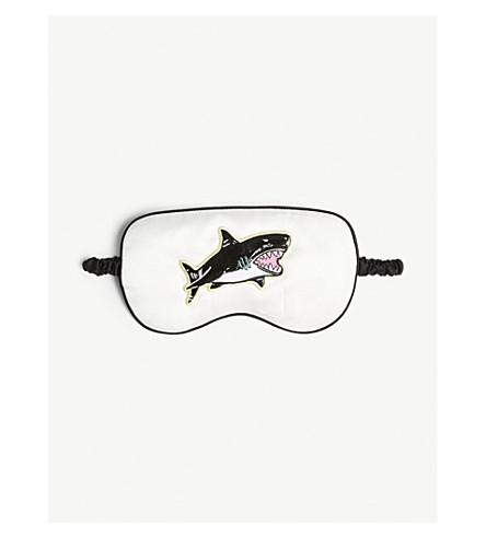 OLIVIA VON HALLE Cody shark silk eyemask (Cody