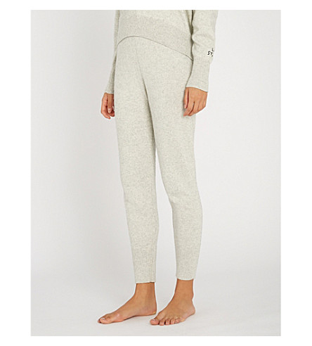 LOVE STORIES Jimmy knitted track pants