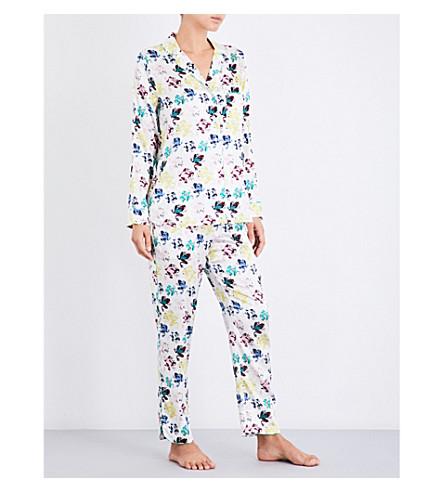 YOLKE Prince stretch-silk pyjama set (Prince+print+jewel