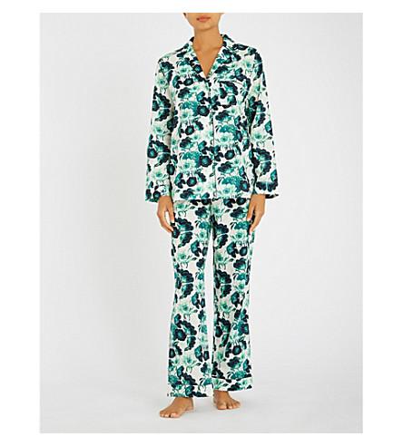 YOLKE Papavere cotton pyjama set (Pap+elderflower