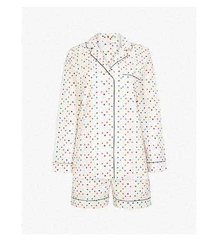 YOLKE Polka dot cotton pyjama set (Polkadot+multi