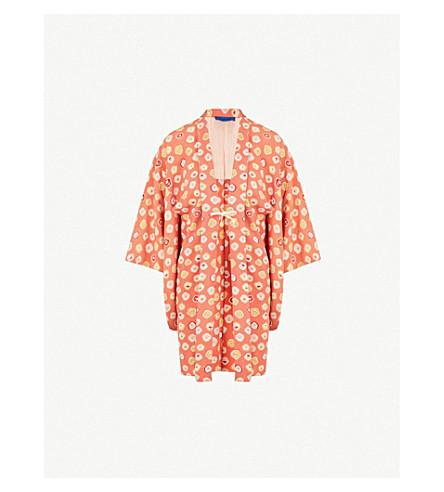 KISSHOTEN Spring Feelings silk kimono (Spring+feelings