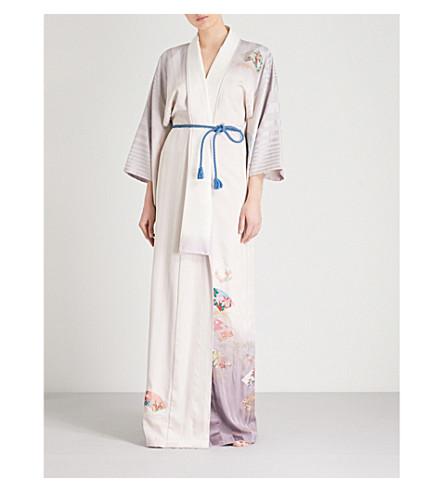 KISSHOTEN Mistress printed silk kimono (Mistress