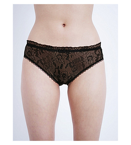 FANTASIE Susanna lace briefs (Black