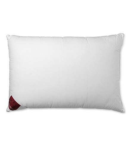 BRINKHAUS Luxury twin goose feather and duck down pillow 50cm x 75cm