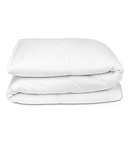 SELFRIDGES New white duck feather and down four seasons duvet 4.5 tog / 9 tog