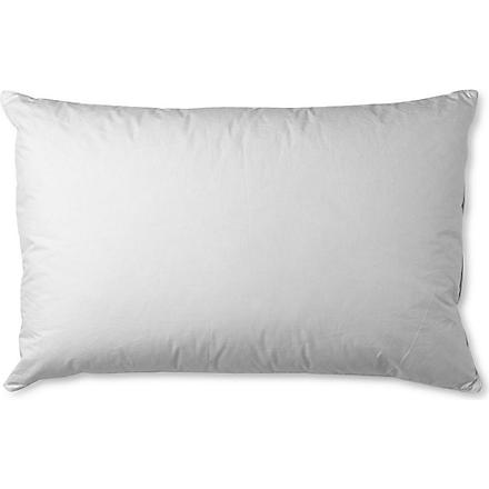 SELFRIDGES Selfridges duck down and feather pillow (White