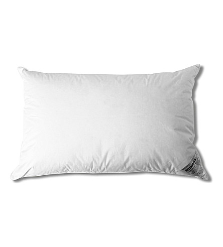 SELFRIDGES New white goose down pillow (White