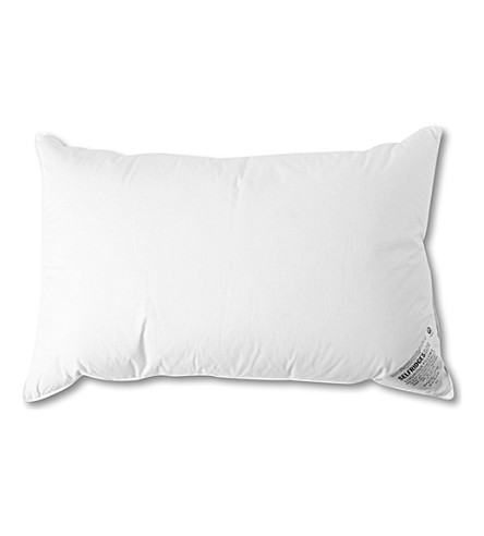 SELFRIDGES New white goose down surround pillow (White