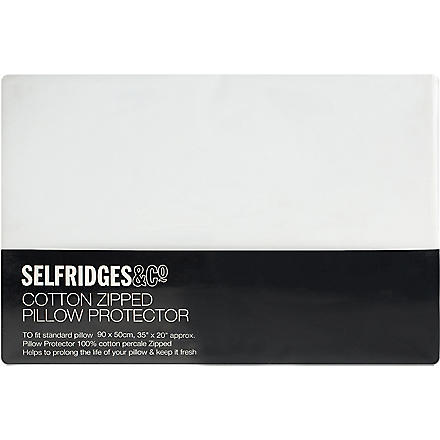 SELFRIDGES Cotton pillow protector