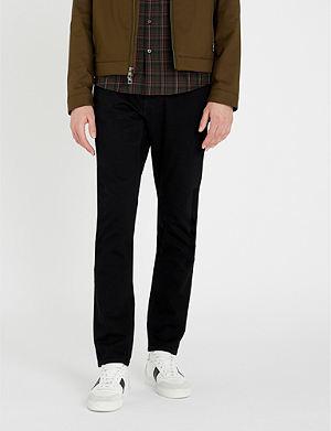 MICHAEL KORS Slim-fit tapered jeans