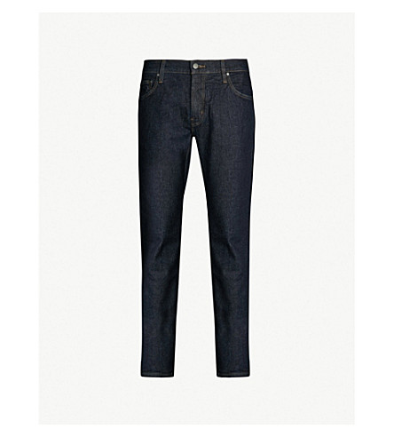 MICHAEL KORS Parka slim-fit straight jeans (Rinse